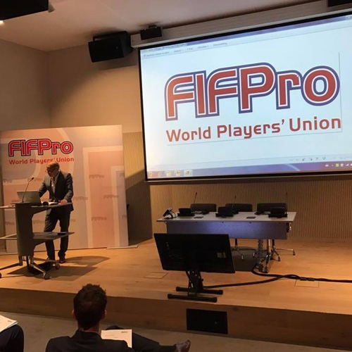 Sindicato na FIFPro Legal Conference