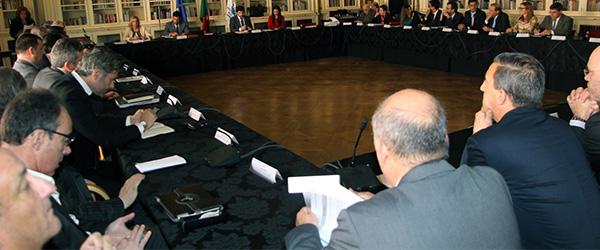 Sindicato no plenário do Conselho Nacional do Desporto